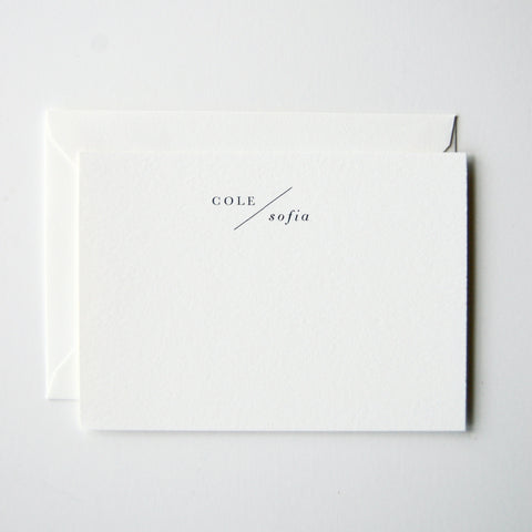 Cole - Personalized Stationery