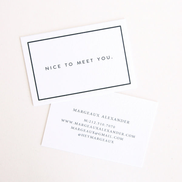 Margeaux Calling Cards