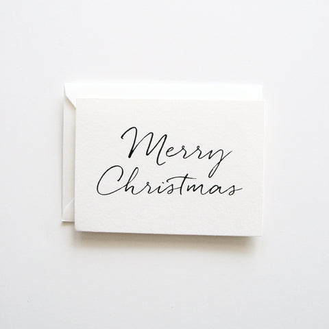 Handwritten Christmas