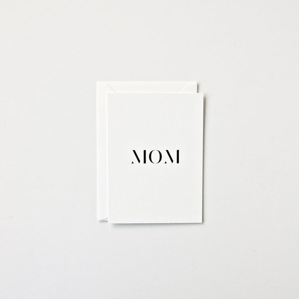 Mom - Single Card