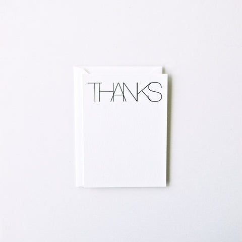 Thanks - Stationery Set