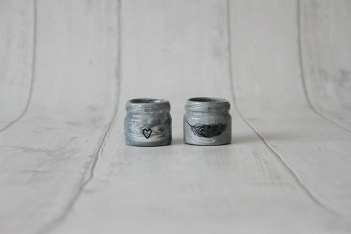Tiny Porcelain Jar