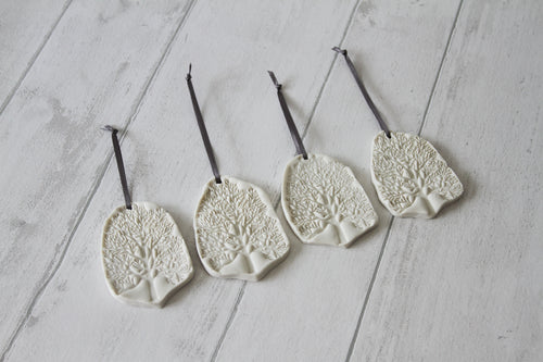Porcelain Tree Decorations