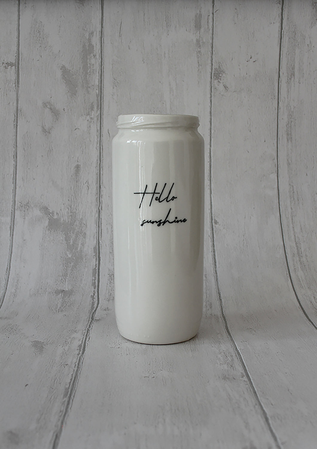 Porcelain Vase Jar - Hello sunshine