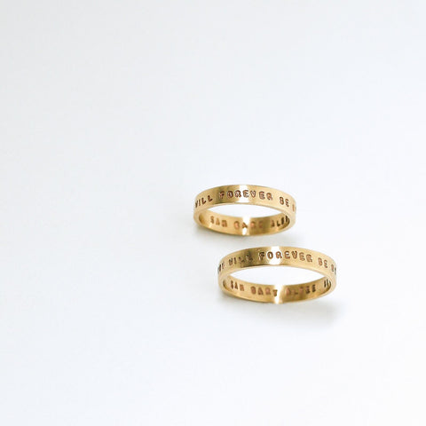 Medium Gold Ring