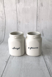 Square Jar Set - always& forever