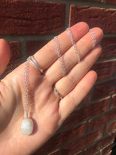 Load image into Gallery viewer, Moonstone Necklace Long Chain