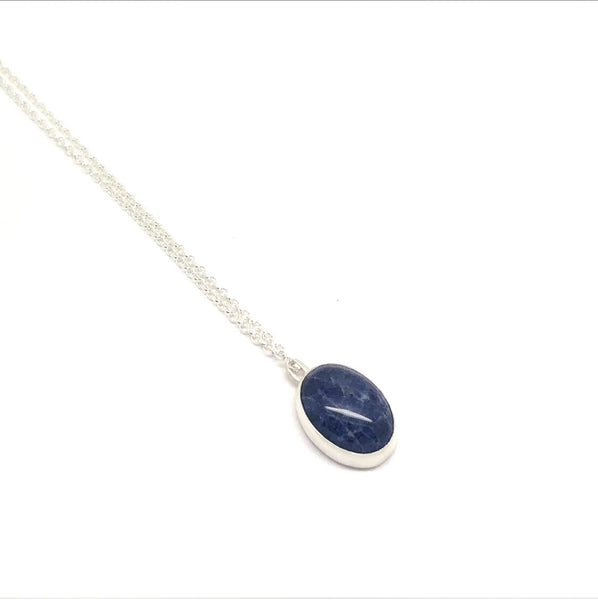 Large Oval Sodalite Necklace