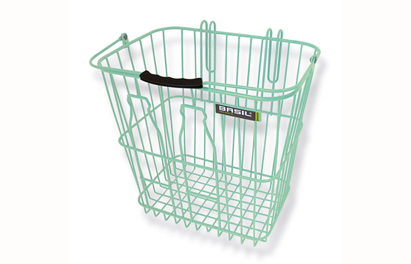 Basil Milk Bottle Basket Green