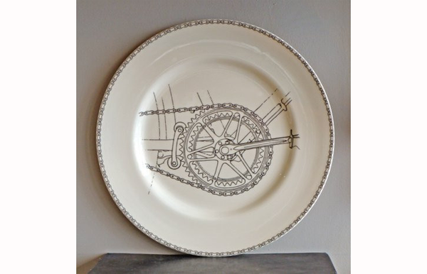Big Tomato Company... Golden Age of Bicycles, Bicycle chainset dinner plate