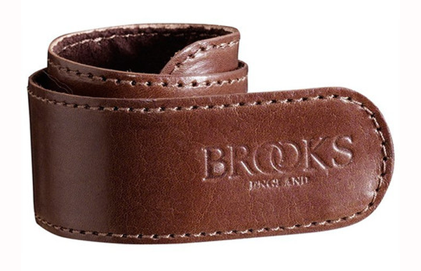 Brooks Leather Trouser Strap brown