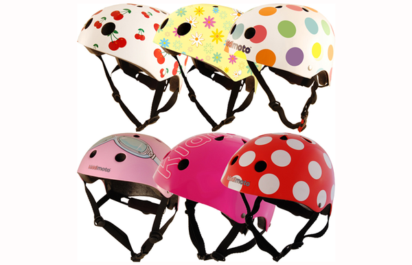 Kiddimoto Helmet selection
