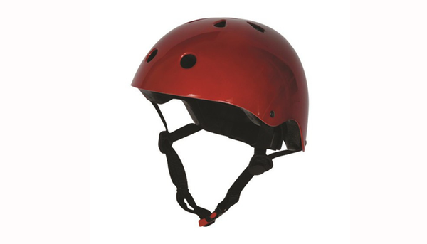 Kiddimoto Helmet Metallic Red