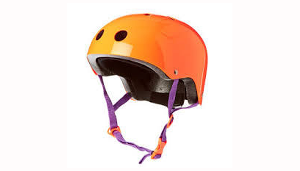 Kiddimoto Helmet Neon Orange