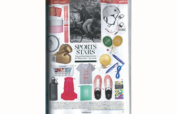 Marie Clare Christmas Issue Sports Stars