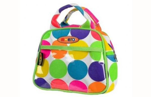 Mini Micro Bag - Neon Dotty Handbag