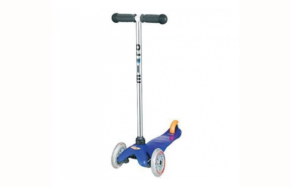 Blue mini micro scooter