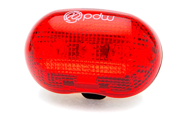 PDW Red Planet rear light