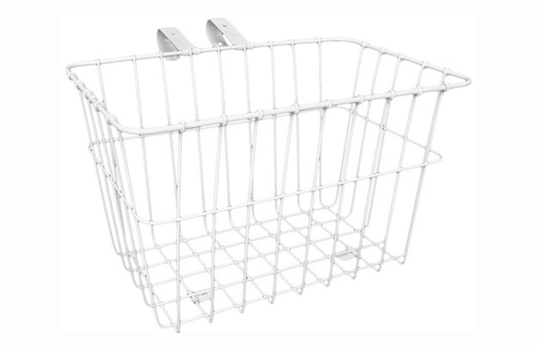 Wald #135 white steel basket