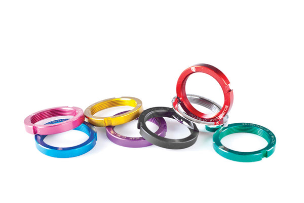 Brick Lane Bikes Beefy lock rings selection