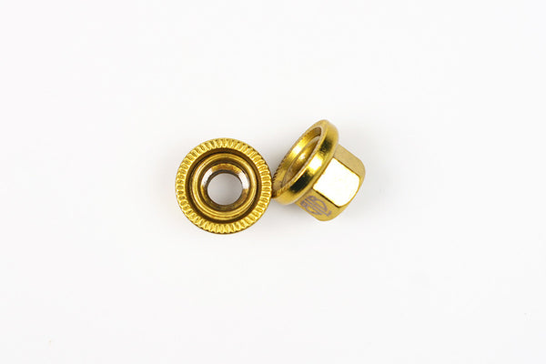BLB Steel Track Nuts gold