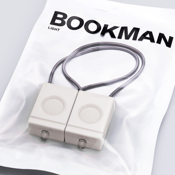 Bookman Lights white
