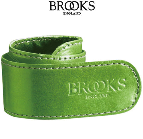 Brooks Leather Trouser Strap apple green