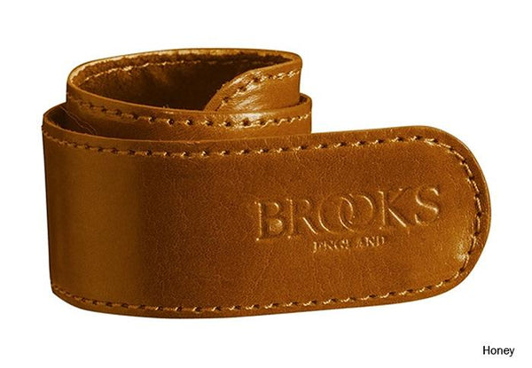 Brooks Leather Trouser Strap tan