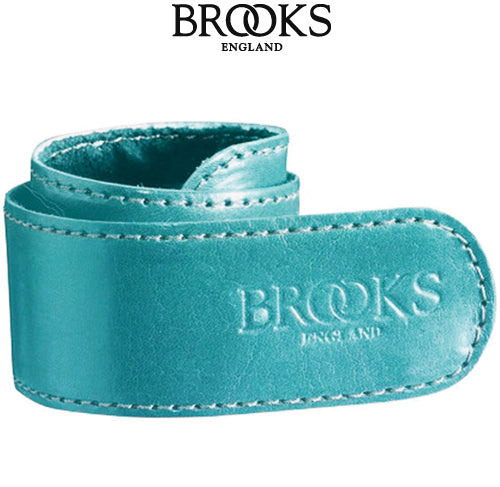 Brooks Leather Trouser Strap turquoise