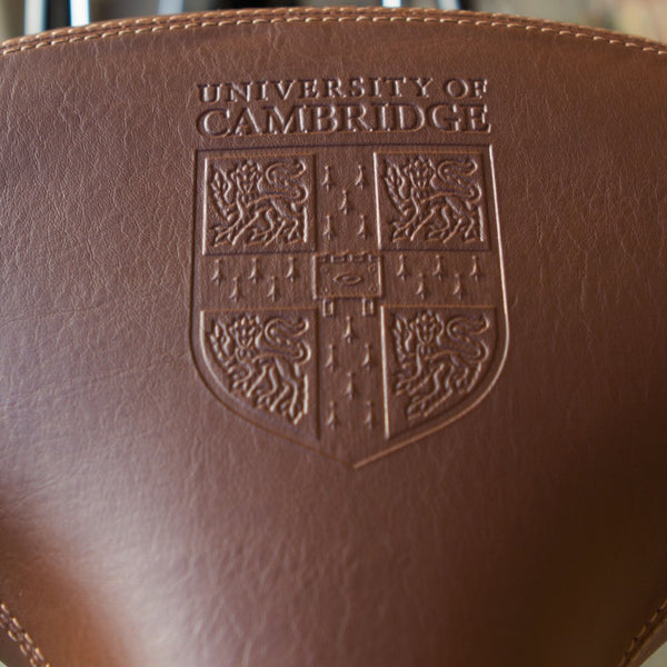 Bobbin_University_of_Cambridge_bike_embossed_saddle
