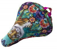 Catalina_Estrada_Tiger_bike_Saddle_cover