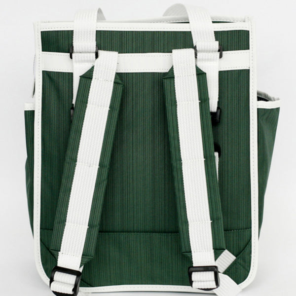 Goodordering Market Shopper forest green straps