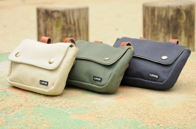 Linus Pouch Sand army green navy
