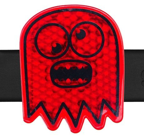 Micro Scooter Reflector Scoobits Suburo ghost red