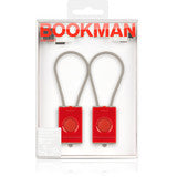 Bookman Red Rechargeable USB Lights
