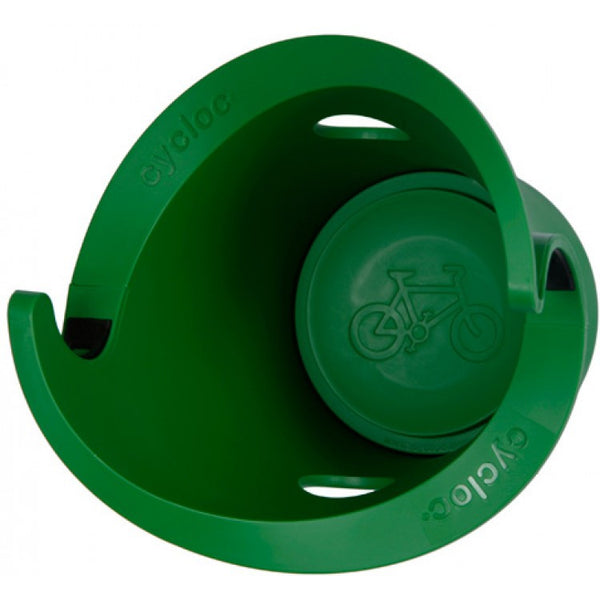 Cycloc - Store your bike with style green