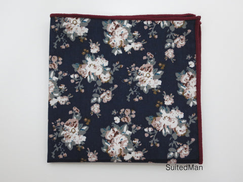 Pocket Square, Vintage Bloom
