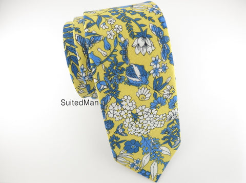 Floral Tie, Canary
