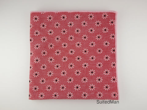 Pocket Square, Daisy Dots - SuitedMan