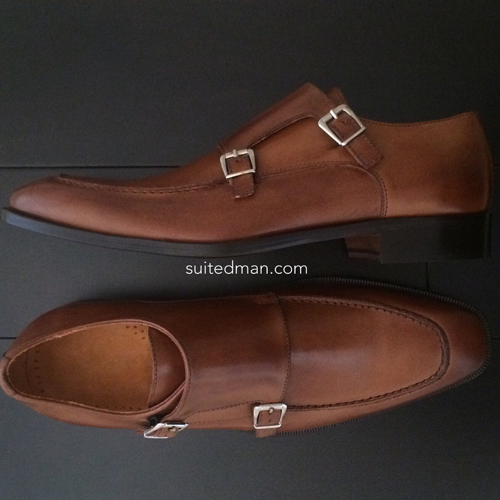 Shoes, Double Monk Strap (Limited) - SuitedMan