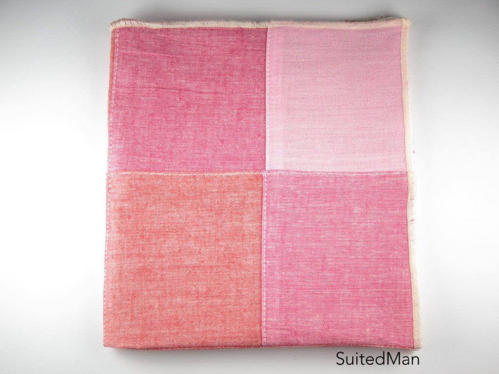 Pocket Square, Shades of Red - SuitedMan