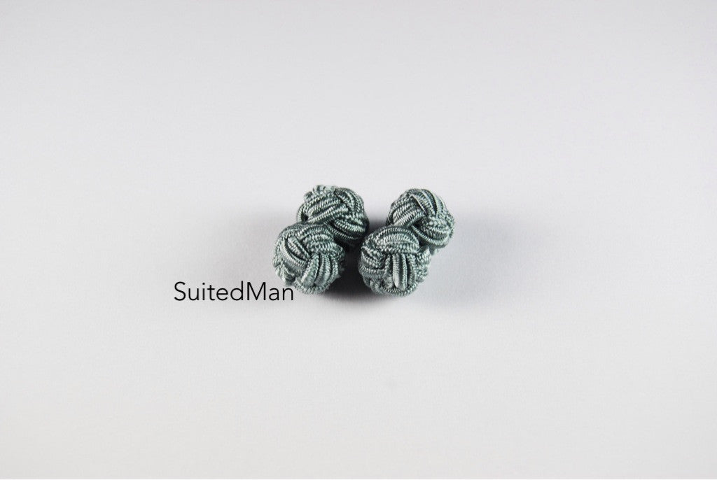 Silk Knot, Storm Grey - SuitedMan