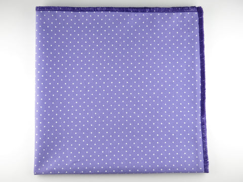 Pocket Square, Pindot, Purple