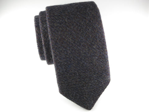 SuitedMan D'Italia Tie, Wool Melange Purple