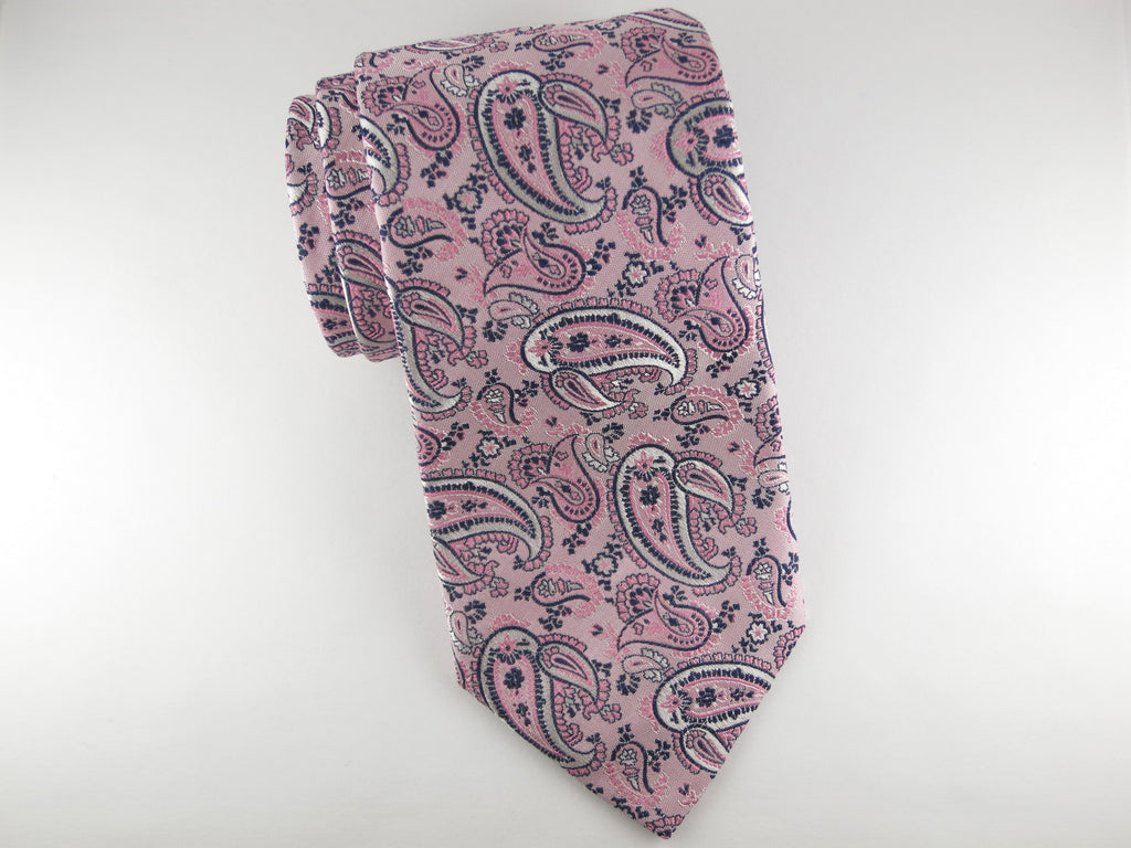 SuitedMan D'Italia Tie, Paisley, English Rose - SuitedMan