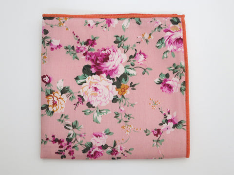 Pocket Square, Fleurs Jolies en Bloom - SuitedMan