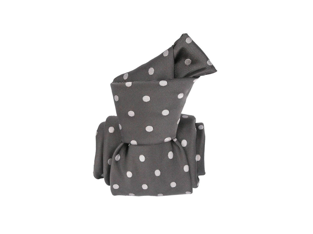 Tie, Dots, Grey/Gray - SuitedMan