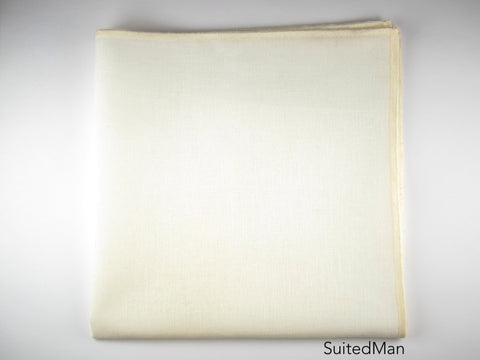 Pocket Square, Antique White/Cream