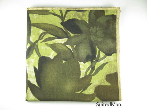 Pocket Square, Floral Camo - SuitedMan