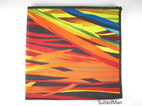 Pocket Square, Vivid Grass - SuitedMan
